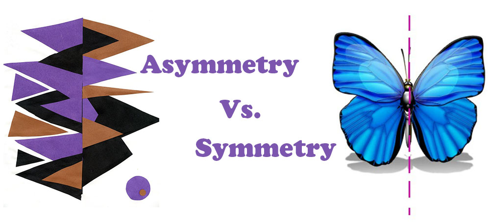asymmetry vs symmetry