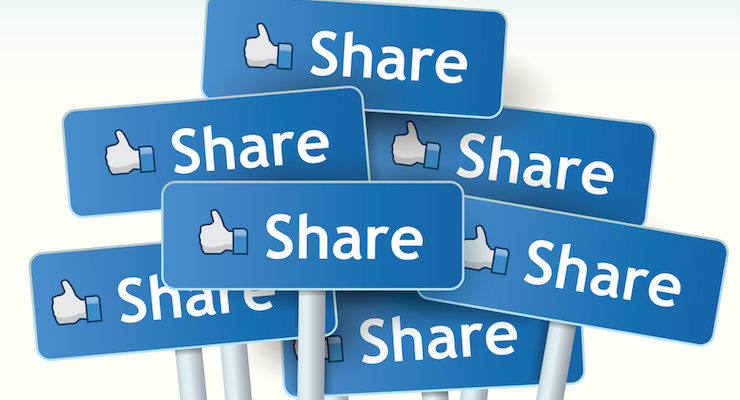 share your content on social media and other platforms