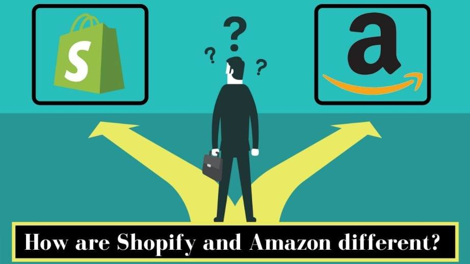 How are Shopify and Amazon different?