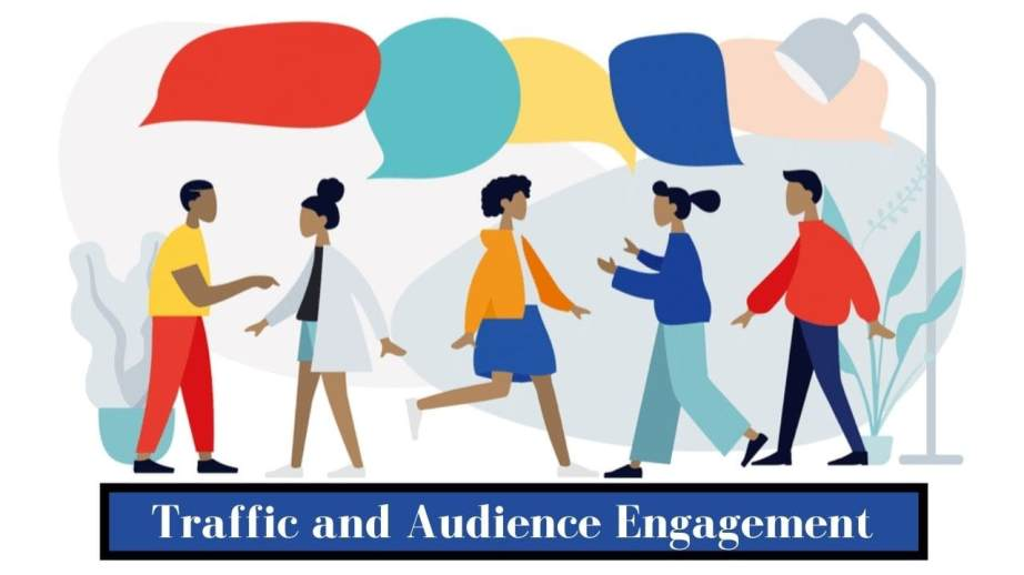 Traffic and audience engagement on amazon and shopify