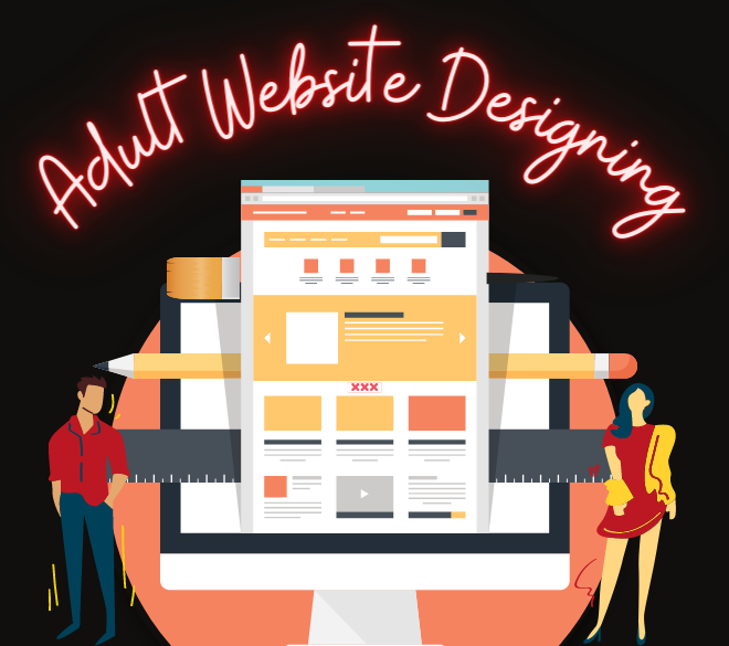 Adult web designing services