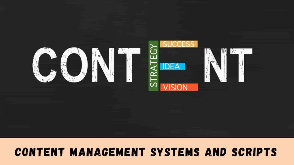 Content Management Systems and Scripts For Adult Blog