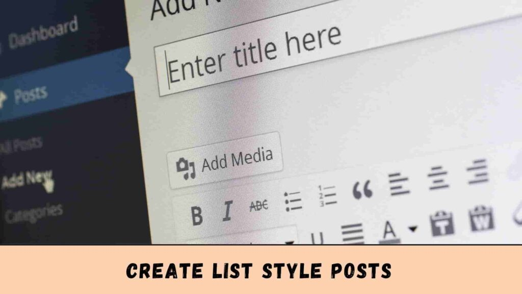 You can create List Style Posts.